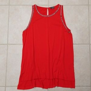 Vince Camuto never worn, red sleeveless top